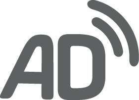 Logotip de la audiodescripció.